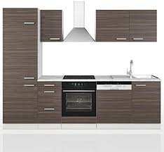 vicco küche 270 cm küchenzeile küchenblock einbauküche komplettküche kombinierbar