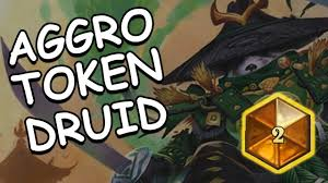 Top Tier Hearthstone Decks August by Hearthstone Aggro Token Druid 2017 Top 2 Legend Youtube