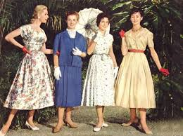 50s Dressing Fashion Look Retro Clothing