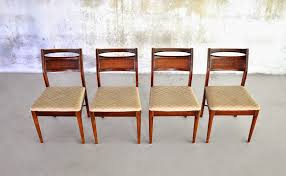 SELECT MODERN Set Of 4 American Of Martinsville Dining Chairs