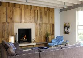 wandgestaltung ideen mit paletten für holzwand im wohnzimmer