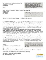 How To Write A Cover Letter Email For A Job