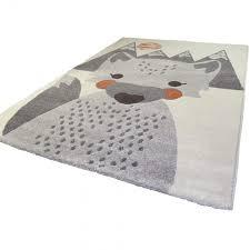 tapis chambre d enfant tapis renard mr fox pour chambre d enfant