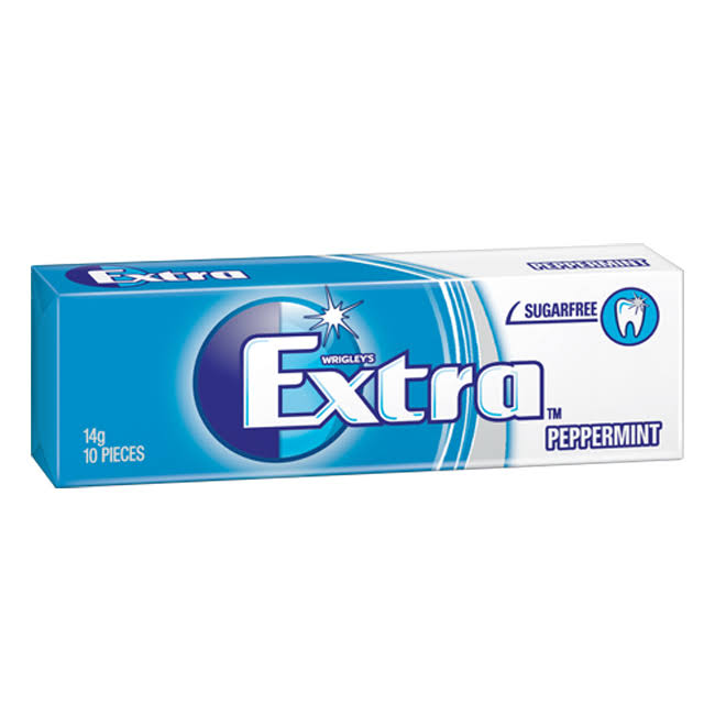 Wriley's Extra Peppermint Chewing Gum - 10pcs