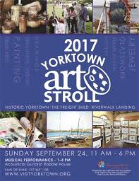 Yorktown Historic Freight Shed by Yorktown Art Stroll Returns Sunday September 24 At The Freight Shed