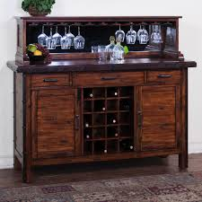 Dining Room Hutch And Buffet Neu Glamorous With Wine Rack Pictures Best