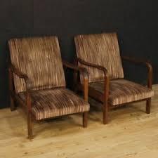 details zu sessel paar stühle italienisch design möbel wohnzimmer holz stoff moderne 900