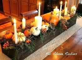 Fall Table Decorations Centerpieces Dining Room Decorating Ideas Home