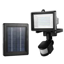 LE 60 LED Solar Flood Light Outdoor PIR Motion Sensor Security