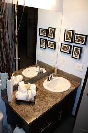 Teal Brown Bathroom Decor by Well Suited Ideas Brown Bathroom Decor Bathroom Decorating In Blue