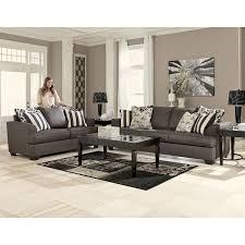 Levon Charcoal Living Room Set Signature Design by Ashley