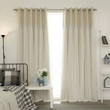 Light Pink Ruffle Blackout Curtains by 51