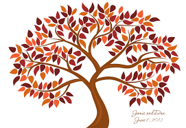 Falling clipart autumn tree 2