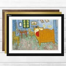 gerahmtes poster schlafzimmer in arles vincent gogh kunstdruck