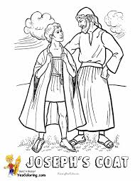 Faithful Abraham Coloring Page At YesColoring Joseph Coat Of Many Colors