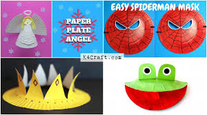 Easy Craft Ideas For Kids Using Paper Plates