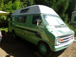 1976 Dodge Seymour Factory Camper Conversion Van