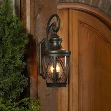 cottage wall lights shop in h rubbed bronze outdoor wall light at
