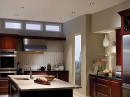 best recessed lighting for kitchen with decorative wall shelves