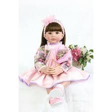 22 LifeLike Reborn Baby Doll Silicone Soft Girl Kids Newborn