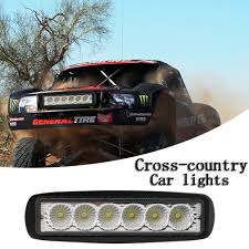 LED Work Light Bar 18W For Car Truck Boat Tractor Road Work Lamp LED ... 7 Inch 144w 24 Led Work Light Bar Spot Beam Car Driving Lamp For Off Led Lightbar With 2 Color Strobefunction Goinstylenl Ijdmtoy 20 Strobe Perfect For Cstruction Truck Peterbilt Bumper Tp1704lf Semi Parts And Accsories F150 60 In Blade Tailgate Hightech Lighting Rigid Industries Adapt Recoil Custom Trucks Georgia Rocky Ridge Raxiom 50 Straight Roof Mounting Bracket Daytime Running Drl Side Marker Trailer Megulla 2row Strip Redwhite Reverse 30 Single Row Ford Bronco F Series
