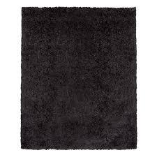 Beaufort Comfort Dark Grey Shag Rug 710 X 104