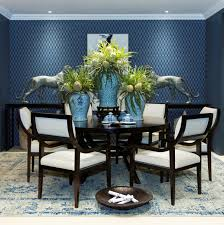 Art Of Flower Arrangement Crossword For Trendy Dining Room Decor With Blue Color Schemes And Modern Interior Plus Latest Furniture