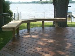 deck wood bench seat plans