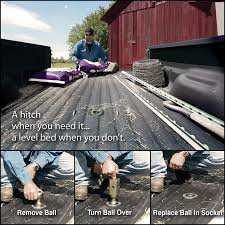 Silverado Bed Extender by Turnoverball Gooseneck Hitch In Use By B Trailer Hitches I Cannot