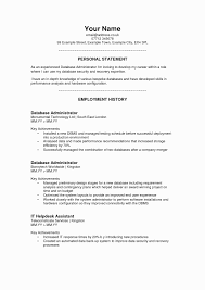 Criminal Justice Resume Objective How To Write A Personal Statement Examples