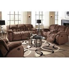 magnum living room reclining sofa loveseat mocha umr157