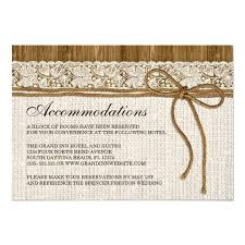 Breathtaking Hotel Inserts For Wedding Invitations 89 Rustic Invitation Accommodation