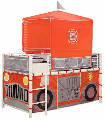 Homelegance B2028 1 Fire Truck With Metal Tent Loft Bed Twin ... Interior Essential Home Slumber N Slide Loft Bed With Manual New With Pull Out Insight Bedroom Fire Truck Bunk Engine Beds Tent Christmas Tree Decor Ideas Paint Colors Imagepoopcom Diy Find Fun Art Projects To Do At And Bed Fniture Fire Truck Bunk Step 2 Firetruck Light Bedding And Decoration Hokku Designs Twin Reviews Wayfair