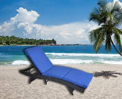 Outime Patio Garden Chaise Lounge Black Rattan Wicker Adjustable Backrest  Cushioned Pool Chaise Lounge Chair(Royal Blue Cushion) Pillow Perfect Ggoire Prima Blue Chaise Lounge Cushion 80x23x3 Outdoor Statra Bamboo Adjustable Sun Chair Royal With Design Yellow Carpet Wning And Walls Rug Brown Grey Gray Paint Shop For Outime Patio Black Woven Rattan St Kitts Set Wicker Bright Lime Green Cushions Solid Wood Fntiure Best Rattan Garden Fniture And Where To Buy It The Telegraph Garden Backrest Cushioned Pool Chairroyal Salem 5piece Sofa Fniture Sectional Loveseatroyal Cushions2 Piece Sunnydaze Bita At Lowescom