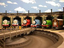 Thomas And Friends Tidmouth Sheds Wooden Railway by 16 Thomas The Train Tidmouth Shed Wooden Big Express Engine