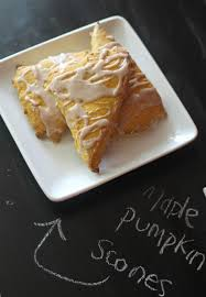 Pumpkin White Chocolate Chip Scones by Maple Pumpkin Scones Midwest Modern Momma