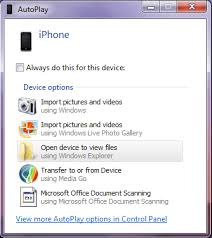 Transfer iPhone photos to a PC Connected Monkey