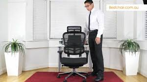 Workpro Commercial Mesh Back Executive Chair Black by Ergohuman Mesh Office Chair Review By Bestchair Youtube