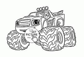 Trucks Coloring Book New Funny Blaze The Monster Truck Coloring Page ... Free Printable Monster Truck Coloring Pages For Kids Pinterest Hot Wheels At Getcoloringscom Trucks Yintanme Monster Truck Coloring Pages For Kids Youtube Max D Page Transportation Beautiful Cool Huge Inspirational Page 61 In Line Drawings With New Super Batman The Sun Flower