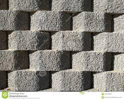 100 Modern Stone Walls With Concrete Blocks Stock Photo Image