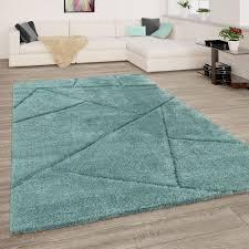 hochflor teppich wohnzimmer shaggy 3 d design