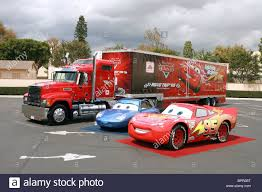 THE REAL SALLY CARRERA & LIGHTNING MCQUEEN CARS (2006 Stock Photo ...