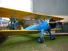 Boeing Stearman PT 17 Museum Of Historical Studies Institute Aerospace In Peru