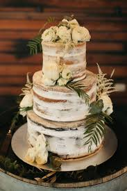 A Lush Olive Green And White Winery Wedding Rustic CakesTier