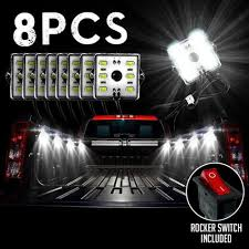 8PC Truck Bed LED Lights – Light Bar Supply 300w 52 Curved Work Led Light Bar Fog Driving Drl Suv 4wd Boat 20 630w Trirow Cree Combo Truck Atv 53 Razor Extreme Lightbarled Light Barsled Outfitters Chevy Ck Roof Mount For Inch Curved 8998 92 5 Function Trucksuv Tailgate Brake Signal Reverse 052015 Toyota Tacoma 40inch Rack Avian Eye Tir Emergency 3 Watt 63 In Tow Light Rough Country Black Bull W For 0717 50inch Philips Flood Spot Lamp Offroad 13inch Double Row C3068k Big Machine Isincer 7 18w Automotive Waterproof Car