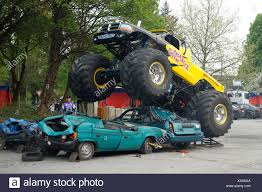 Monster Truck Stock Photos & Monster Truck Stock Images - Alamy Videos Of Monster Trucks Crashing Best Image Truck Kusaboshicom Judge Says Fine Not Enough Sends Driver In Fatal Crash To Jail Crash Kids Stunt Video Kyiv Ukraine September 29 2013 Show Giant Cars Monstersuv Jam World Finals 17 Wiki Fandom Powered Malicious Tour Coming Terrace This Summer Show Clip 41694712 Compilation From 2017 Nrg Houston Famous Grave Digger Crashes After Failed Backflip Of Accidents Crashes Jumps Backflips Jumps Accident