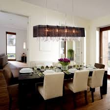 Contemporary Crystal Dining Room Chandeliers Special Home Accessories Design Ideas Combine Pictures