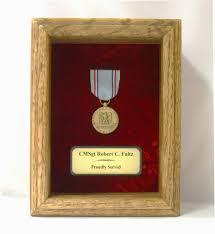 Single Medal Display Case
