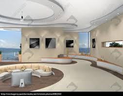 stock bild 8902550 futuristische innenarchitektur