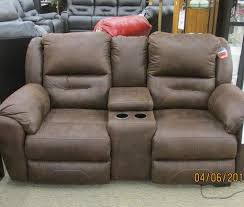 Southern Motion Reclining Sofa Power Headrest by Southern Motion Power Headrests Console Sofa Mocha Priceco
